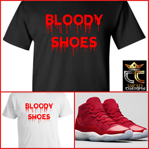 fcf8cec3bb6 Details about EXCLUSIVE TEE T-SHIRT  2 to match NIKE AIR JORDAN 11 RETRO   WIN LIKE  96  REDS