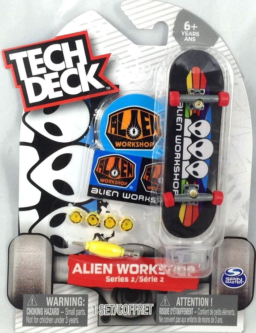 New ULTRA RARE Tech Deck Alien Workshop Skateboards Fingerboards Series 4
