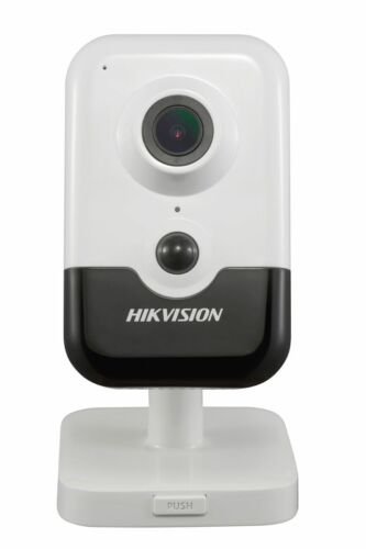 2.8mm IR Fixed Hikvision Wi-Fi 6MP Cube Network Camera PIR DS-2CD2463G0-IW