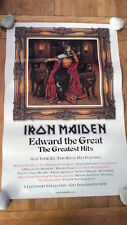IRON MAIDEN 'Edward The Great' Shop Display POSTER 20x30 inches
