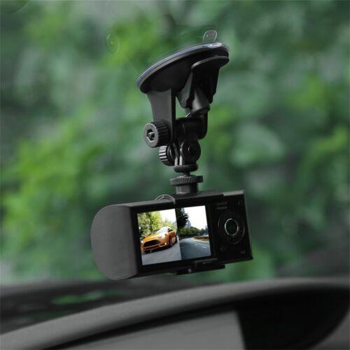 "2.7/"" Full HD 1080P Car DVR Camera Video Recorder Dash Cam G-Sensor GPS Dual Len"
