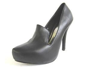 Anne-Michelle-L2R253-Ladies-Black-Synthetic-Court-Shoes-w-Platform-R34B-Kett
