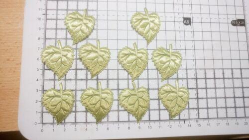 Mariage Leaf Motif Pour Garnitures - 30 mm x 40 mm env. 13 couleurs appliques