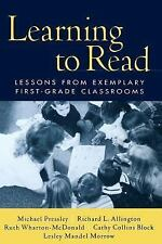 Solving Problems in the Teaching of Literacy: Learning to Read : Lessons from...