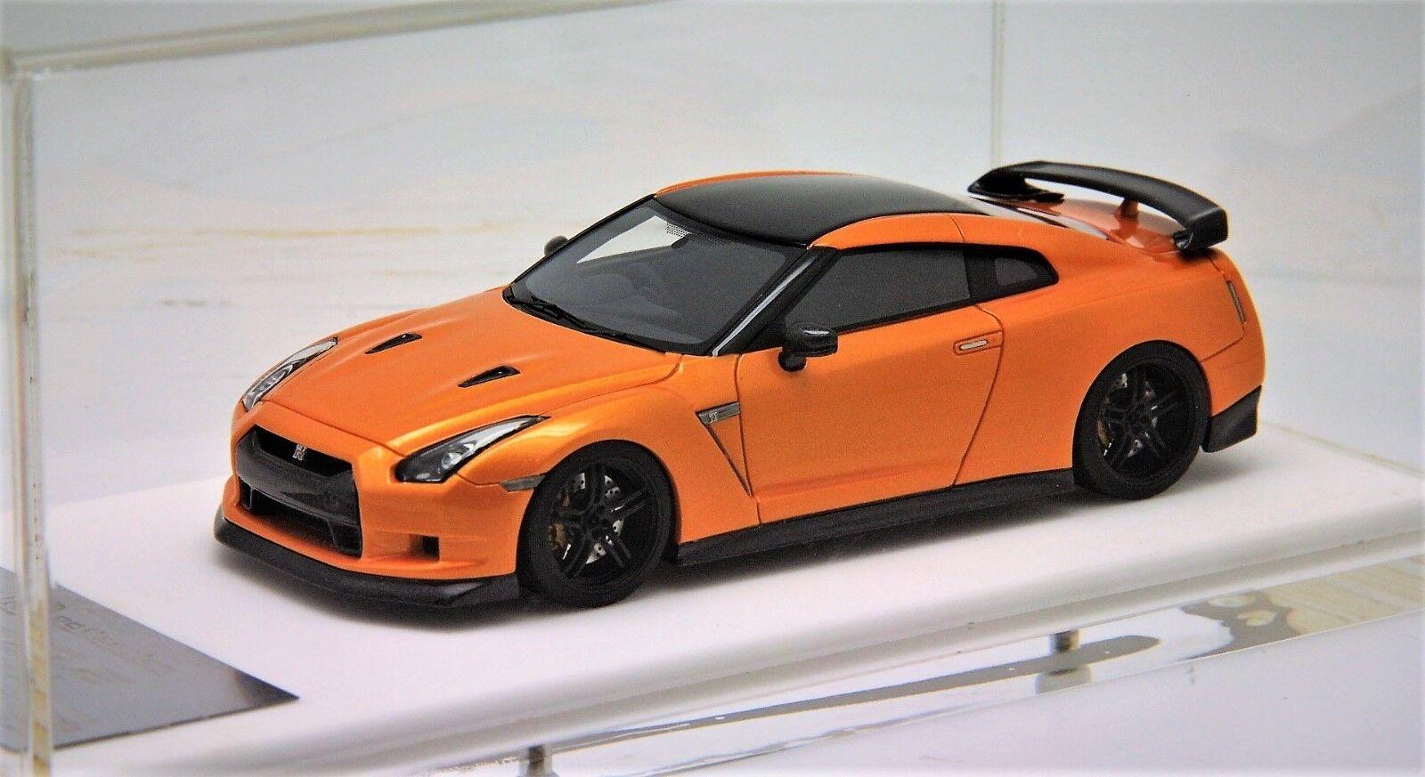 1 43 Davis Giovanni ZELE R35GTR Metallic orange Rare Free Shipping  MR BBR