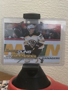 2019-20-Upper-Deck-UD-Canvas-Young-Guns-Connor-Clifton-C117-Rookie