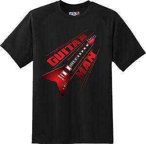 Guitar-Man-Music-T-Shirt-New-Graphic-Tee