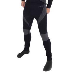 Oxford-Couches-Couche-de-Base-Tricote-Thermique-Moto-Pantalon-Noir