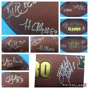 2008-New-York-Jets-NFL-Wilson-Football-SIGNED-BRETT-FAVRE-9-PLAYERS