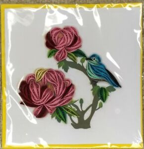 quilling card 6inx6in