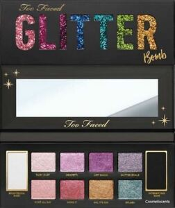 AUTHENTIC-TOO-FACED-COSMETICS-GLITTER-BOMB-EYESHADOW-PALETTE-LIMITED-EDITION-NIB