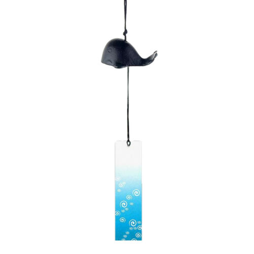 Japanese Traditional Furin Wind Chime Bell Nanbu Iron New Home Garden Decor