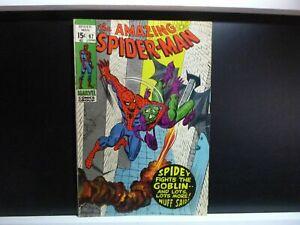 Amazing-Spider-man-97-FN-6-0-No-Comics-Code-Drug-Issue-Green-Goblin