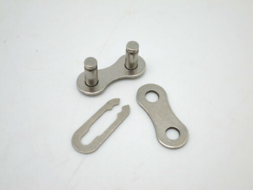 """Silver New KMC Uni-Connector for 1//2/"""" x 1//8/"""" Single Speed Bicycle Chain"""