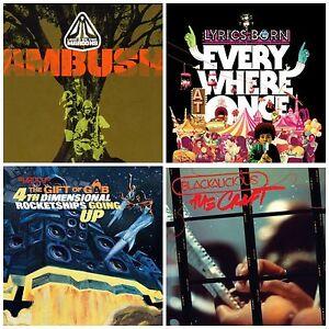 4 New Cds Lot Lyrics Borngift Of Gabblackaliciouslateef And The