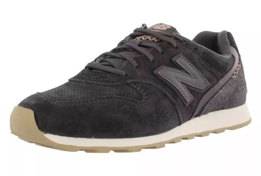 New Balance 696 Suede Donna's Sea Size 8.5 Sea Donna's Salt/Pisces Grey WL696BY NEW Free S/H 10a209