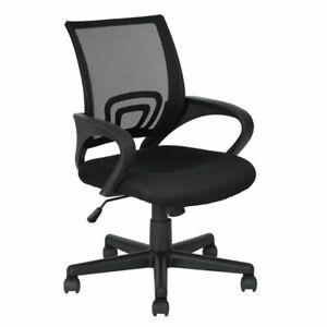 Sedia per ufficio scrivania swan girevole imbottita for Sedia design nera
