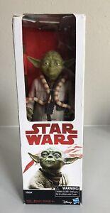 Star-Wars-The-Empire-Strikes-Back-YODA-12-inch-1-6-Scale-Hasbro-Figure-NIB-2017