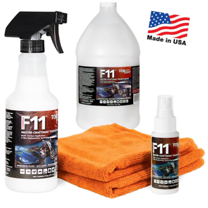 Where Can I Buy Top Coat F11 >> Details About Topcoat F11 16oz Master Craftsman Polish Sealer Web Special Kits Microfiber