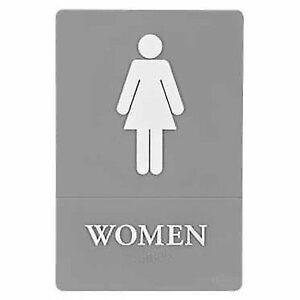 stock photo - Womens Bathroom Sign