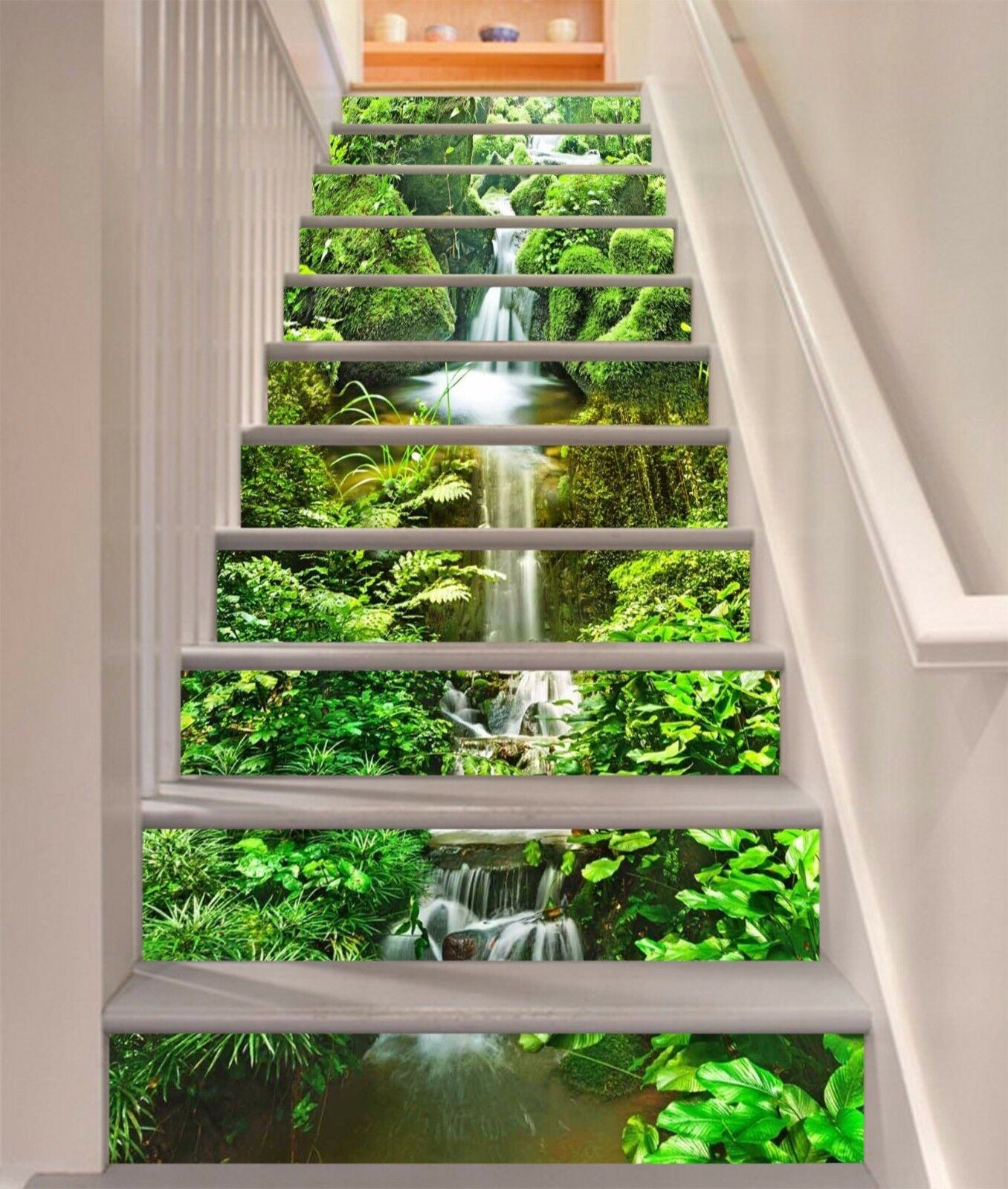 3D Nature Forest 635 Risers Decoration Photo Mural Vinyl Decal Wallpaper CA
