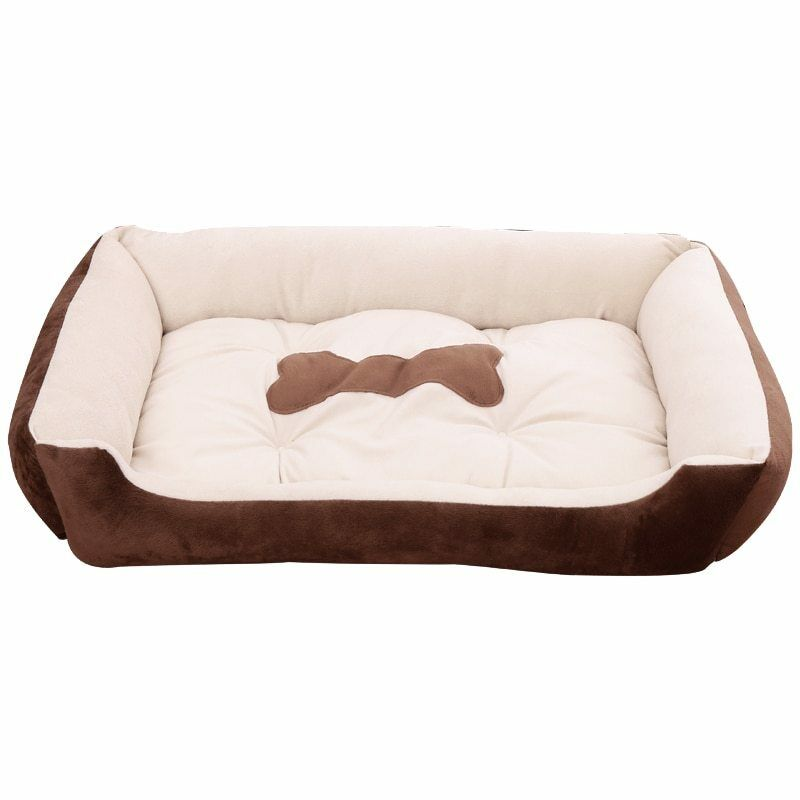 Holapet® Winter Warm Kennel Cozy Cotton Pet Dog Beds For Small Medium Big Dogs