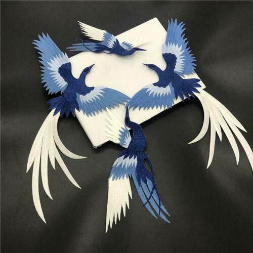 Bird Phoenix Embroidery Patch Sew Iron Clothes Bag Applique Badge HO