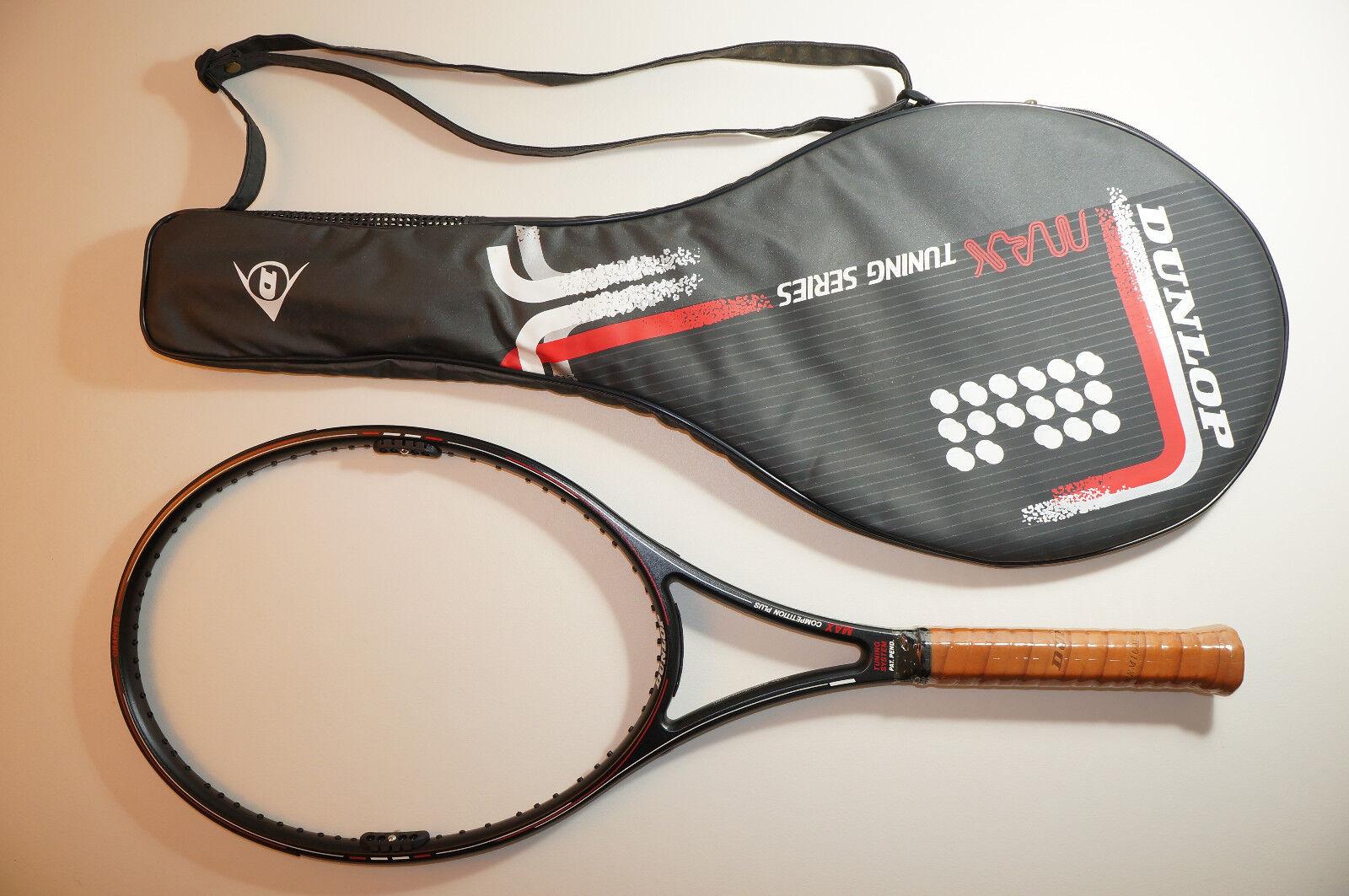 Nuevo Dunlop Max competencia Plus bloque 4 de alimentación ajustable Raqueta De Tenis 4 bloque 1/2 SL4 3b297f