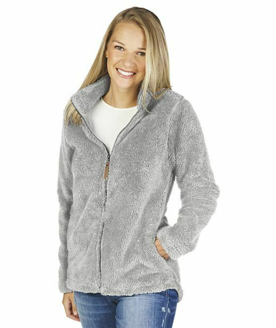 Charles River Womans NEWPORT Full Zip Fleece Jacket