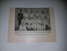 Western Military Academy Upper Alton Illinois 1911 Baseball Team Picture SP RARE