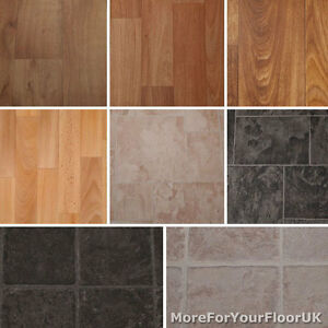 Quality-Anti-Slip-Vinyl-Flooring-Roll-Kitchen-Lino-Cushion-4m-CHEAP-Wood-Tiles