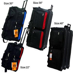 c52a34268c E-Z Roll Two-Tone Rolling Duffel Bag 22