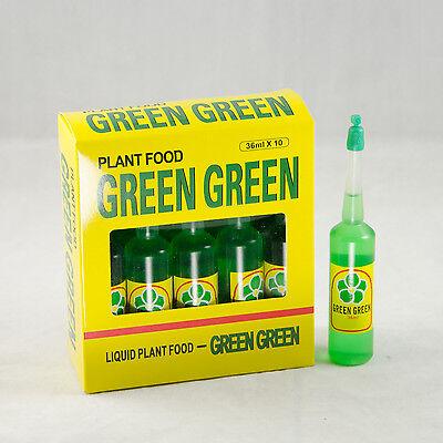 36mlbottle 5 Bottles Green Green Plant Food FREE SHIPPING
