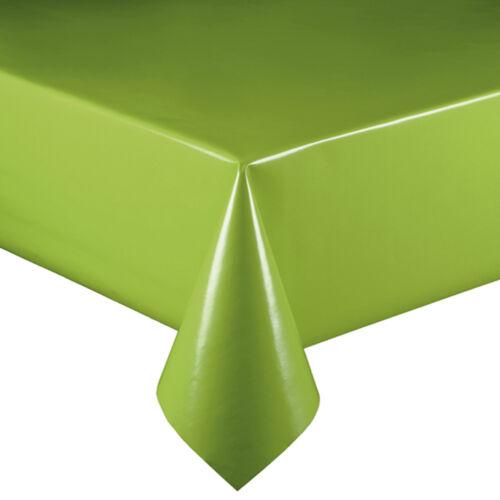 Lacktischdecke vert lmkv largeur 140 cm de longueur whl lavable nappe