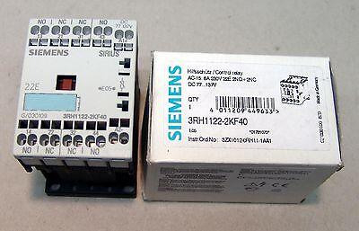 3RH1122-2AB00 NEU,OVP 24V//AC Wechselspannung 2S+2OE Siemens HILFS SCHÜTZ