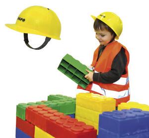Bauhelm Kinderhelm Schutzhelm Bauarbeiterhelm Kinder Ebay