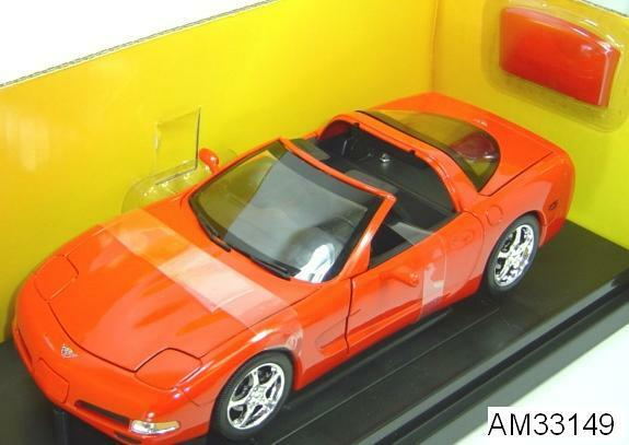 2003 CORVETTE COUPE rouge 50TH ANNIVERSARY SERIES 1 18 by ERTL AMERICAN MUSCLE