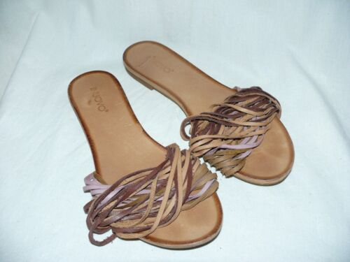 Inuovo Leather Sandals Mules Beach Shoe Leather Ri