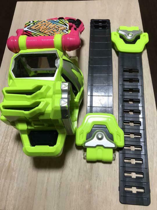 Kamen Rider Ex-Aid Makeover Belt Toys Set Used from Japan F S