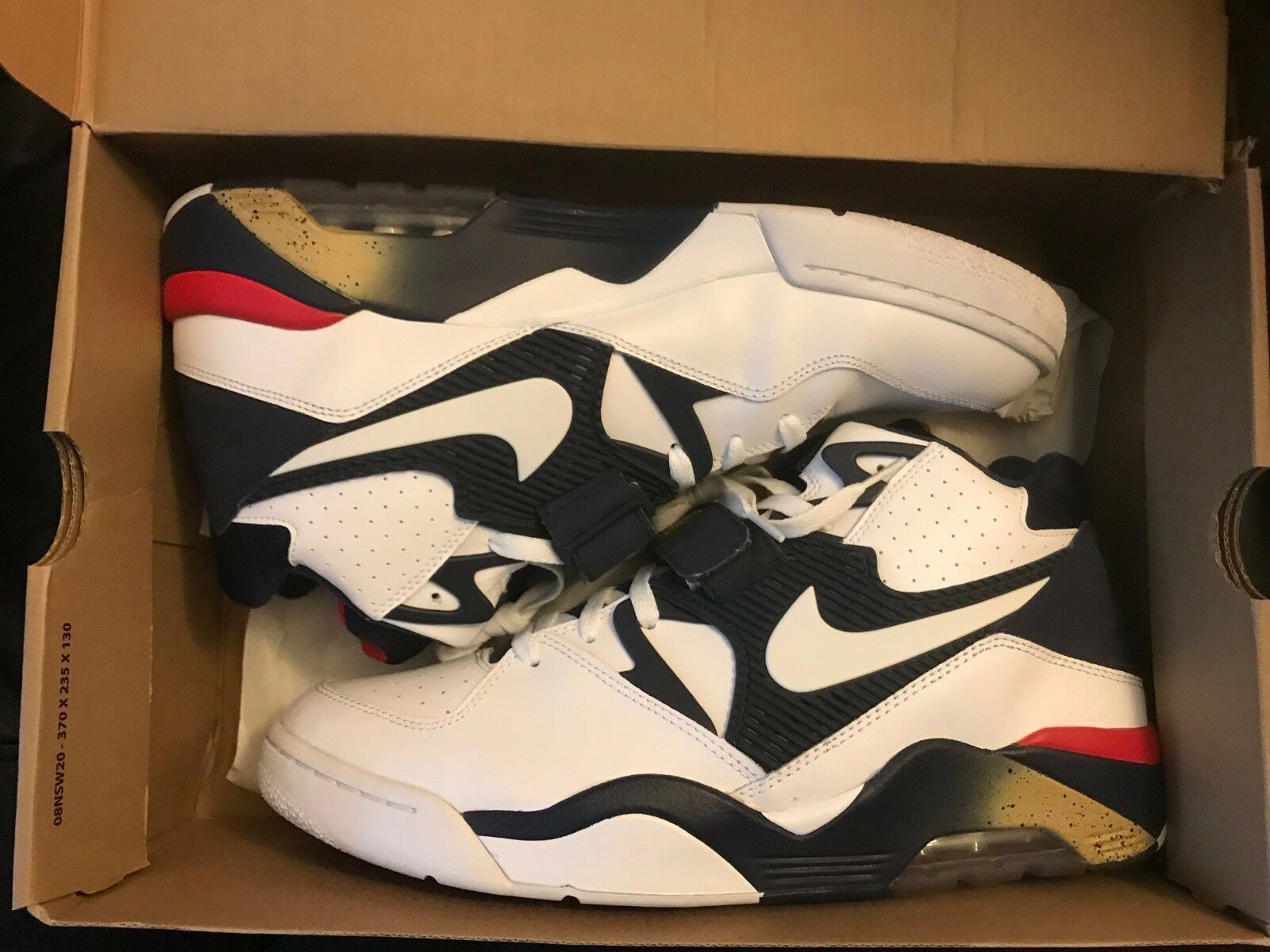 nike air force 180 usa size 13 worn for 20 minutes still new