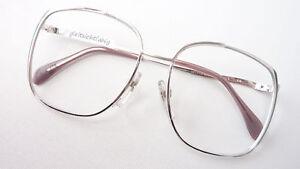 Augenoptik Optiker M Brillenfassung Brille Damen Gestell Vintage Extragroß Von Metzler 70er Gr