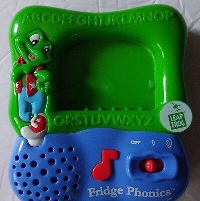 Leap Frog Fridge Phonics Magnetic Alphabet Playset Electronic Learning System
