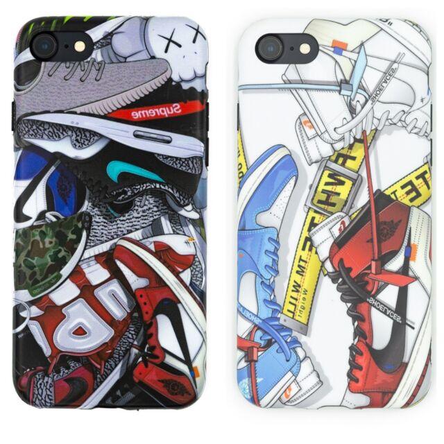 buy popular c75f7 0c356 Sneakerhead Off White/Hypebeast iPhone X XS Max XR 6 6s 7 8 Plus Case -US  Seller