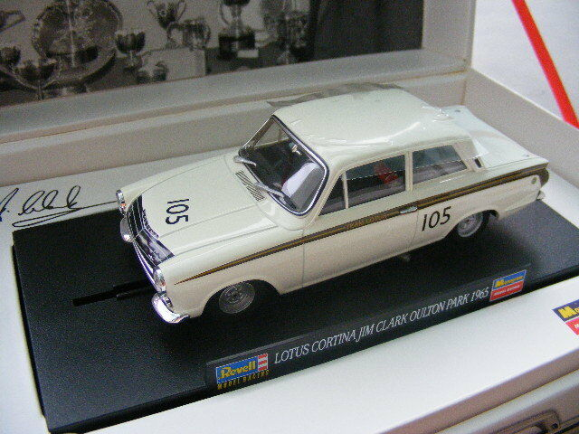 Revell 08398 8398 LOTUS CORTINA JIM CLARK LIMITED EDITION RARE Paper OB