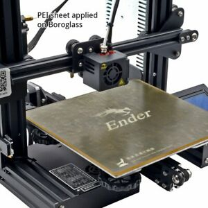 Gulfcoast-Robotics-235-x-235mm-PEI-Sheet-Print-Surface-for-Ender-3-3D-Printers