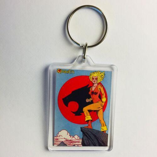 CHEETARA Vintage Thundercats Comic Poster Key Ring Chain Keyring