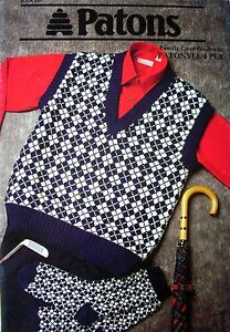 Patons Knitting Pattern Book No 820 Family Co Ordinates 29