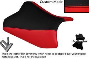 Red Black Custom Fits Kawasaki Ninja Ex 300 12 14 Front Leather