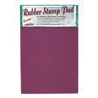 Large 11 X 17 Rubber Stamp Surface Mat Pad