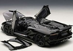 Autoart Lamborghini Aventador J Black In 1 18 Scale New Release In